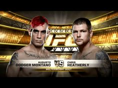 """""""DODGER"""" MONTAÑO NOQUEÓ EN SU DEBUT EN UFC 180"""
