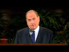 """""""If Ye Are Prepared Ye Shall Not Fear,"""" an address given by President Thomas S. Monson in October 2004. #GenRS #Prepared"""