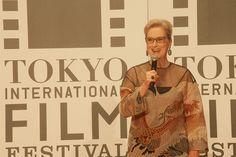 Meryl Streep Brings High-Wattage Stardom to the Tokyo International Film Festival Movi...
