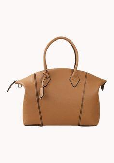 Khaleesi Calf Leather Bag Brown $119