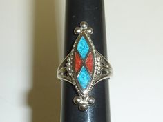 Faux Turquoise Ring by labaublesandbags on Etsy, $12.00