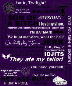 supernatural crowley quotes | supernatural quotes #supernatural #dean winchester #sam winchester # ...