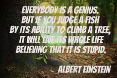 Everybody is a genius!