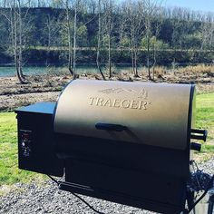 We've got serious #TraegerMod envy--@Grimes1213 takes wood-fired flavor everywhere the family adventures. They installed a swing arm mount to their fifth wheel and attached a Tailgater grill so that they can fire up delicious food wherever they travel and