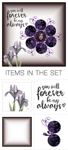 """""""You will forever be my always!"""" by callmerose ❤ liked on Polyvore featuring art"""