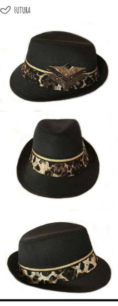 Festival Boho Hat Cotton Roll Brim Hunting Cap Trilby Men Ethnic Head Chic Wear
