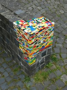 Sweet! Use Lego to repair damages by vonda