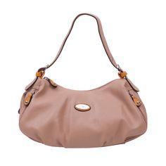 Handtas Leila: draag deze tas bij een snakeprint 60's style jas tot de knie, een paar camel kleur hakken en een grove bronskleurige armband voor een zakelijke sexy look