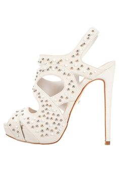 Just Cavalli High Heel Sandaletten white | Stylaholic