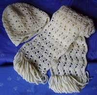 Ripple Scarf #scarf free #crochet pattern