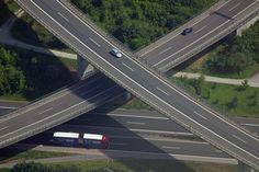 Autobahndreieck Würzburg-West