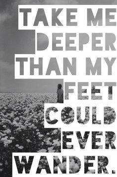 Oceans- Hillsong United Day - 04 calms me because i realize God is holding me.