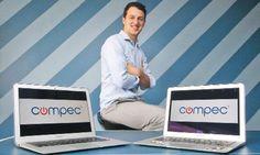Futuro promisor. Yoel Chlimper se abre paso en el competitivo mundo del mercado online.