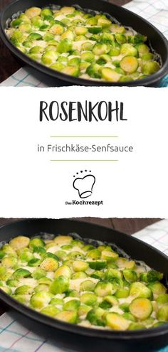 Rosenkohl in Frischkäse-Senfsauce