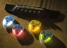 Weekend Fun: LED Guitar Picks | FutureMusic the latest news on future music technology DJ gear producing dance music edm and everything electronic