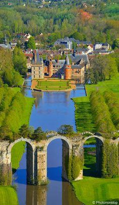 Castelo de Maintenon, Região Central, França