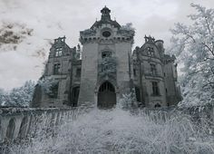 https://flic.kr/s/aHskaQUMWJ | Chateau de la Mothe-Chandeniers | It was partially destroyed by a great fire March 13, 1932, just after the baron Robert Lejeune, then owner of the castle, had been installing new central heating. The castle now remains in ruins. Only the chapel behind the castle was spared and still in reasonable condition. If you want to use any of these images on your blog or website CONTACT ME FIRST save us both a lot of pain & aggravation.
