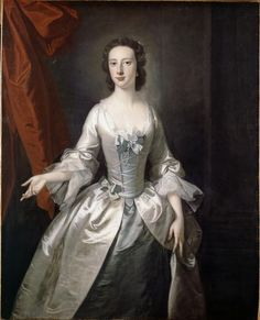 Unknown Lady, by Thomas Hudson (1701-1779), ca 1700-1710