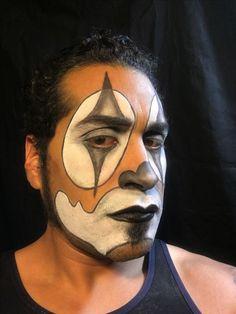 Cholo clown make up by Elvia Olivarria Torres