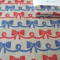 sarah waterhouse textiles - screenprinted