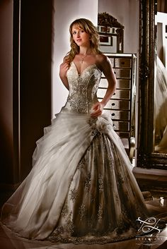 Pronovias Wedding dress by London Wedding Photographer Peter Lane. Apply a discount to your wedding photography with email subject: Pinterest. http://peterlanephotography.co.uk