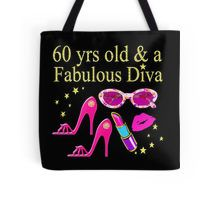 Tote Bag This 60 year old will sparkle and shine in our sizzling 60th birthday T Shirts and Gifts. http://www.redbubble.com/people/jlporiginals/collections/371713-60th-birthday #60yearsold #Happy60thbirthday #60thbirthdaygift #60thbirthdayidea #happy60th