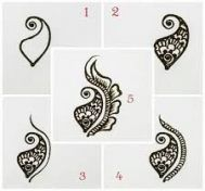 Drawing step by step for beginners henna designs zentangle patterns 45 trendy ideas - Henna .- Drawing step by step for beginners henna designs zentangle patterns 45 trendy ideas Henna Hand Designs, Henna Patterns Hand, Simple Henna Patterns, Mehndi Designs Book, Mehndi Designs For Beginners, Modern Mehndi Designs, Bridal Mehndi Designs, Henna Tattoo Designs, Zentangle Patterns