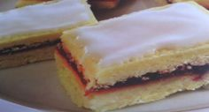 Alexandertorte, simple but sounds delicious, cake, glaze, raspberry