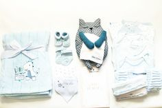 Coffret naissance premium garçon 14 pièces, Baby-suaan