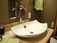Bathroom Sinks and Vanities from Bath Crashers :  Watch Bath Crashers online now         Find Bathroom Ideas From DIYnetwork.com