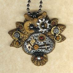 steampunk jewelry   Watch parts recycled into awesome steampunk jewelry