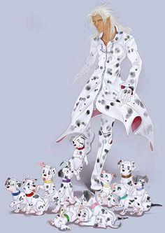 Organization XIII dalmatians