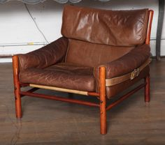 Pair of Arne Norell Chairs | From a unique collection of antique and modern lounge chairs at http://www.1stdibs.com/furniture/seating/lounge-chairs/