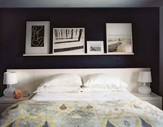 ribba picture ledge above bed - Google Search