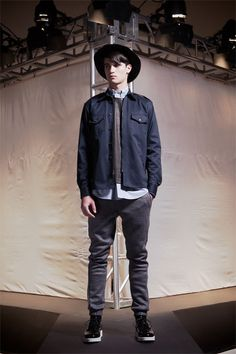 New+York+urban+fashion+men | The Fall 2013 Public School collection is a study in urban boho chic ...