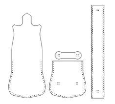 Как сшить сумочку из натуральной кожи. Фото мастер-класс и шаблон (2) (651x590, 30Kb)