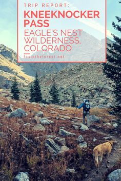 Looking for a challenging hike in Colorado? Try out Kneeknocker Pass in Eagles Nest Wilderness. A wonderful hike year-round, this post features the beauty and wonder of fall in Colorado. Fall color   Aspens in Colorado   Hiking in Colorado