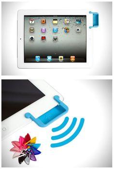 Sound-bender Magnetic Speaker enhancer for iPad