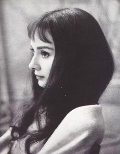 "Audrey Hepburn in ""Green Mansions"" 1959"