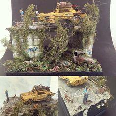 "Diorama ""Taxi Driver"". Modeler Marco Carraro #scalemodel #plastimodelismo #usinadoskits #udk #hobby #diorama #plasticmodel #plastimodelo #miniatura #miniature #maqueta #maquete #diorama #scalemodelkit #taxi #driver"