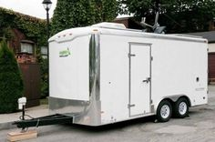 Man Turns Cargo Trailer Into Transforming Stealth Tiny House--You will not believe how well designed the interior space is for this Tiny House on Wheels...
