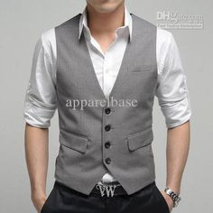 Mens vest…grey or neutral color. size M