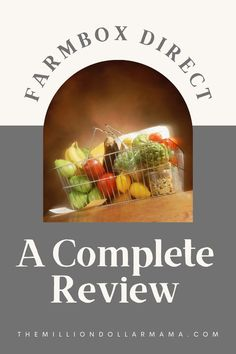 A complete review of Farmbox Direct so you can decide whether this produce delivery service is worth it. I'll share with you my personal experience to help you decide! Get Fresh, Healthy Lifestyle Tips, Living A Healthy Life, Eat Right, How To Stay Motivated, Eating Well, Delivery, Clean Eating Foods, Healthy Eating