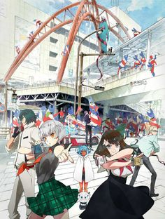 "Crunchyroll - ""Gatchaman Crowds Insight"" Premiere Set for July 5"