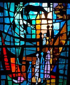 Stained Glass Windows > First Wayne Street United Methodist Church Stained Glass Rose, Stained Glass Church, Modern Stained Glass, Stained Glass Quilt, Stained Glass Lamps, Stained Glass Projects, Stained Glass Windows, Broken Glass Art, Glass Wall Art