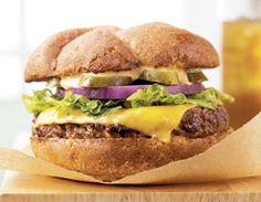 Biggest Loser...Almost Fast Food Burger