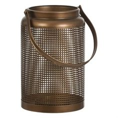 Copper Lantern Metall Jar Holder  Jar Holder i kopparfärgad vintagestyle. Mått: höjd. 290 x b 180 x d 180 mm