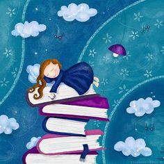 20 incríveis ilustrações que vão te fazer querer ler um livro agora mesmo…