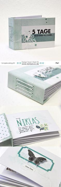 Minibook mit dem #dpNovemberkit15 von Mel für www.danipeuss.de