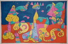Joan Miró: Ubu Roi / Ubu the King (1966)